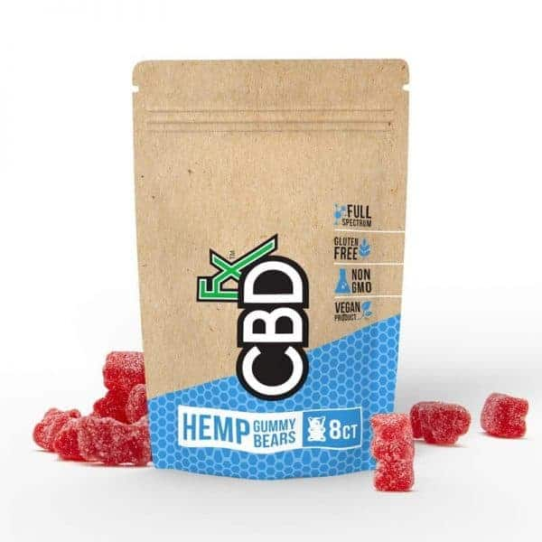 CBD Gummy Bears 40mg – 8ct Pouch (CBDfx)