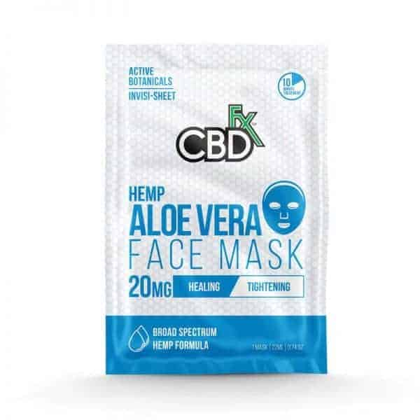 CBD Face Mask Broad Spectrum Aloe Vera