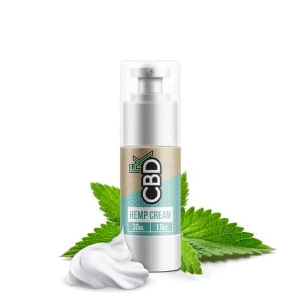 CBDfx Facial Body Cream THC Free