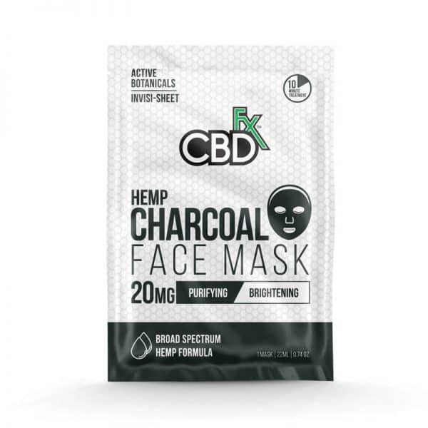 CBDfx Face Mask Broad Spectrum Charcoal
