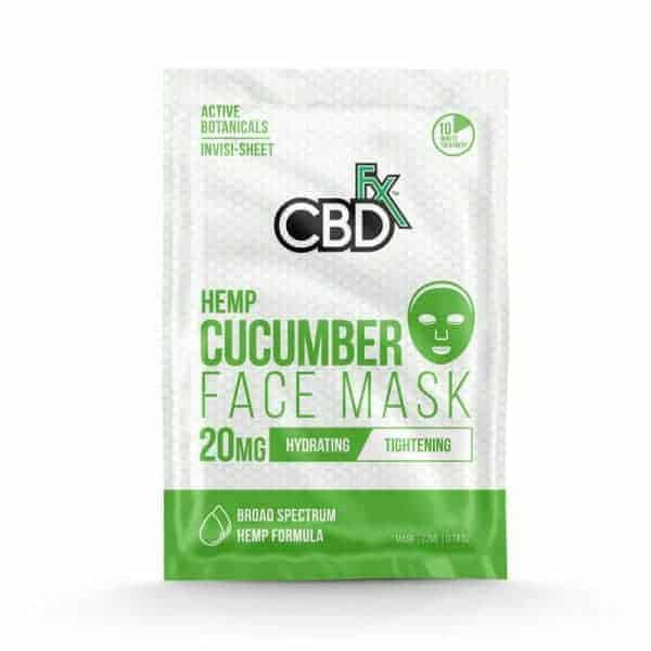 CBDfx Face Mask Cucumber