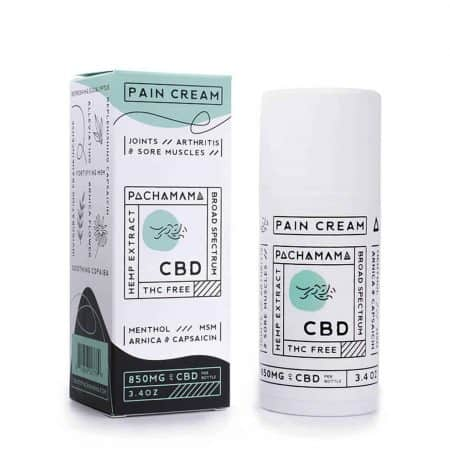 Pachamama 850mg Broad Spectrum CBD Infused Pain Cream