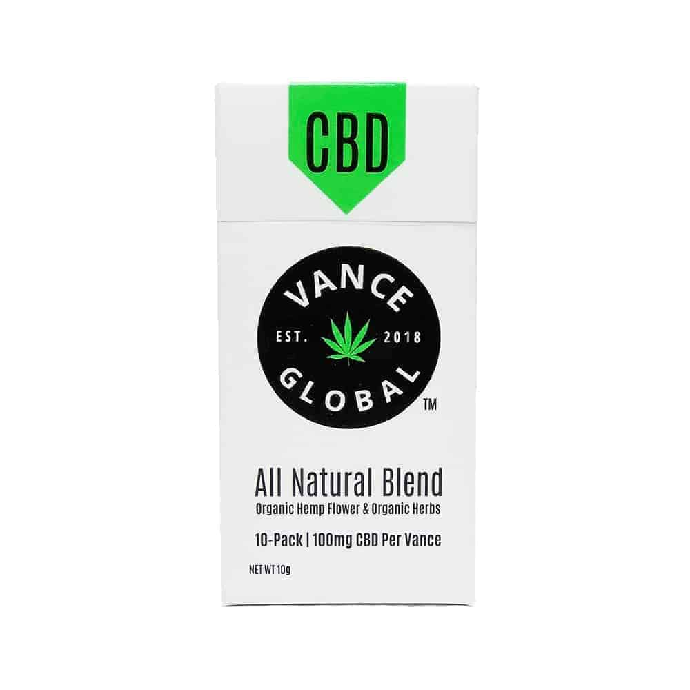vance all natural blend cbd cigarettes