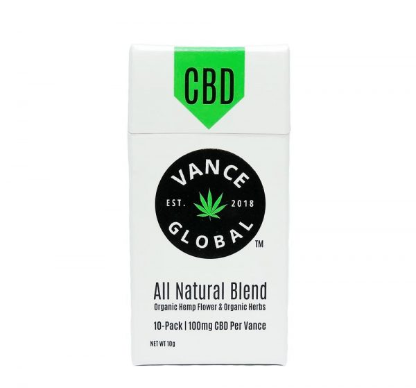 Vance CBD Natural Blend Cigarette Pre Rolls