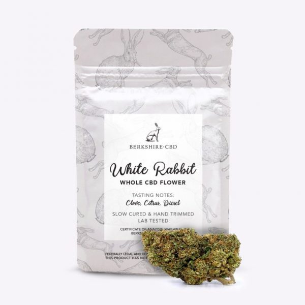 White_Rabbit CBG flower