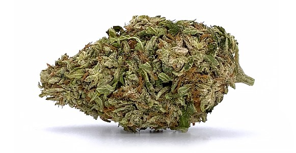 white cbg flower bud