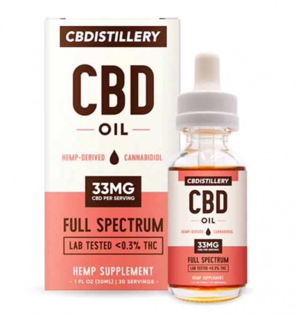 CBDistillery Full Spectrum CBD Oil Tincture