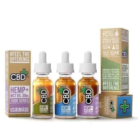 CBDfx FULL SPECTRUM Natural 500mg CBD Tincture Oil 30mL CBD