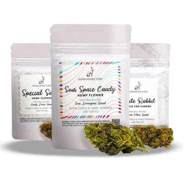 cbd cbg triple pack flower