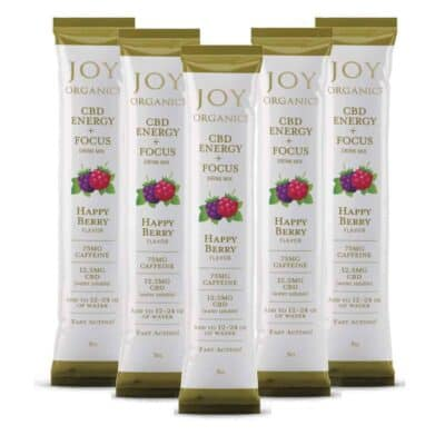 Joy Organics Energy Drink 5 pack